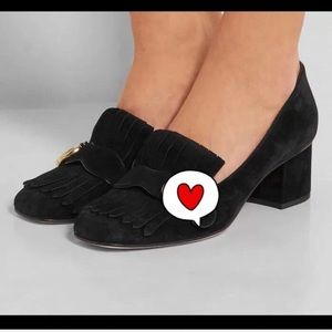 Gucci style heeled shoes size 6